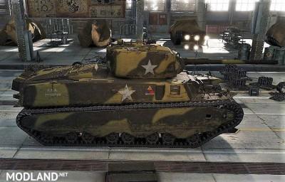 Sgt Krollnikow51's Skin for the american Heavy Tank M6 2.3 [1.3.0.1], 4 photo